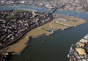 Rochester Riverside Development area